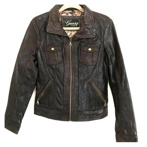GUESS | Women's | Leather Jacket